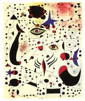 Joan Miro, Ciphers and Constellations in Love with a Woman (1941)