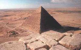 Пирамида Хеопса Вид с другой стороны